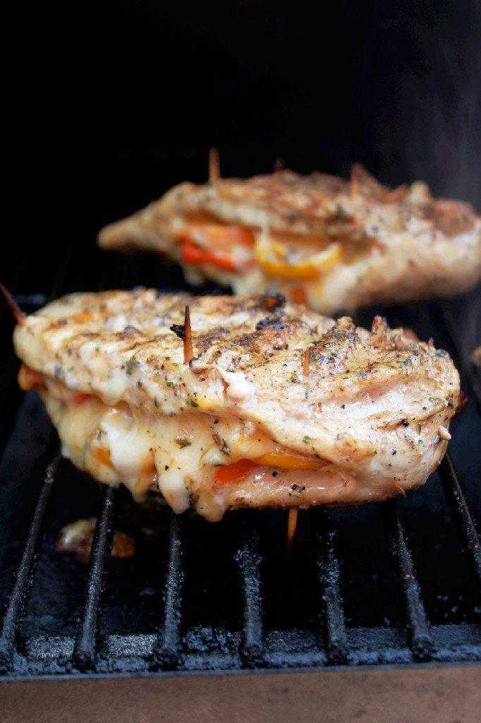 пиле на грил със сирена