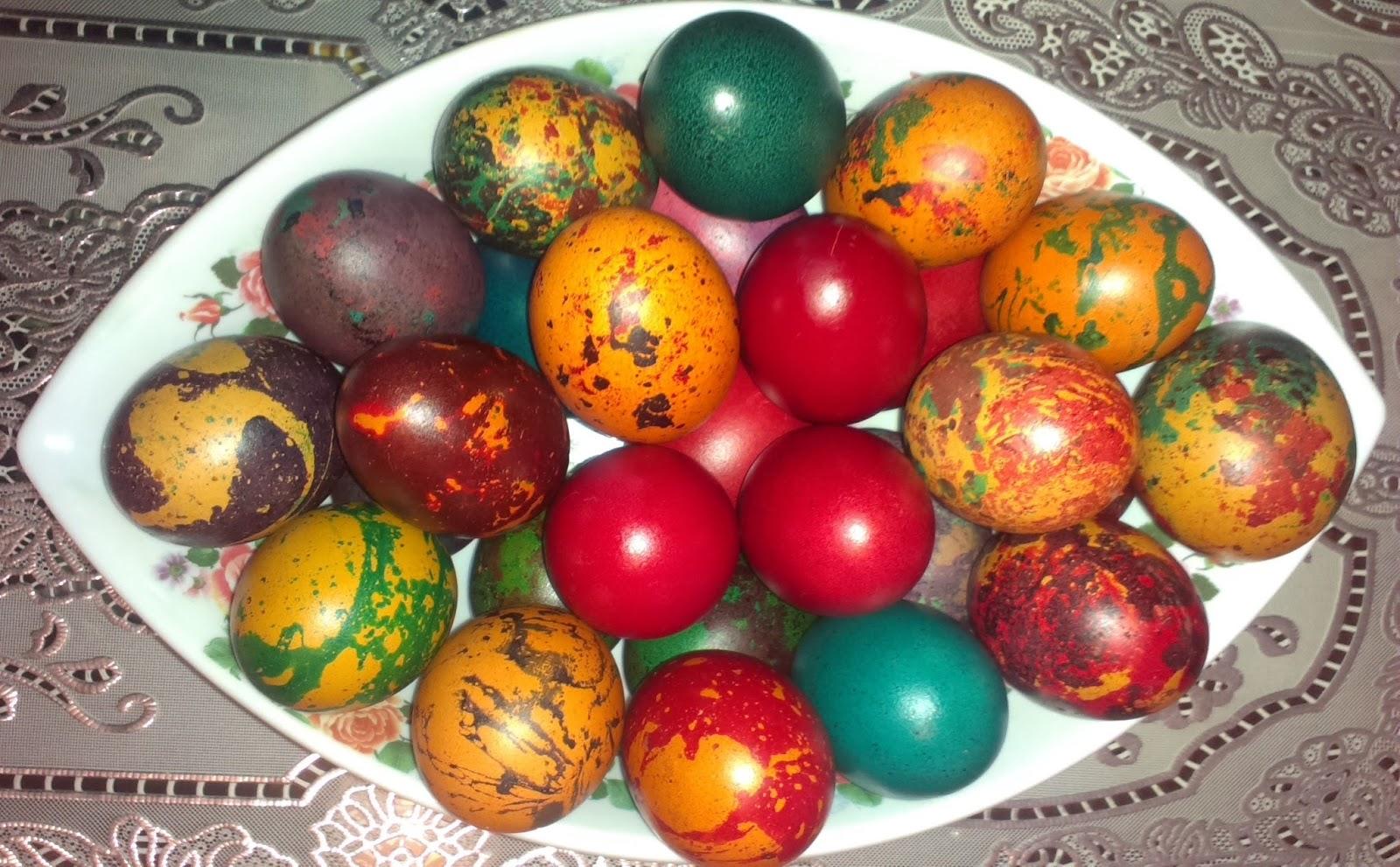 яйца с олио