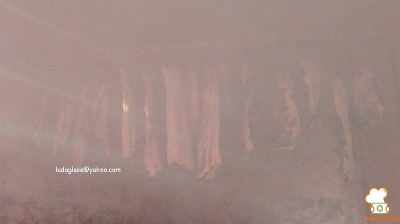 домашно пушено сушено месо