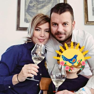 Ирина Тенчева и Иван дете