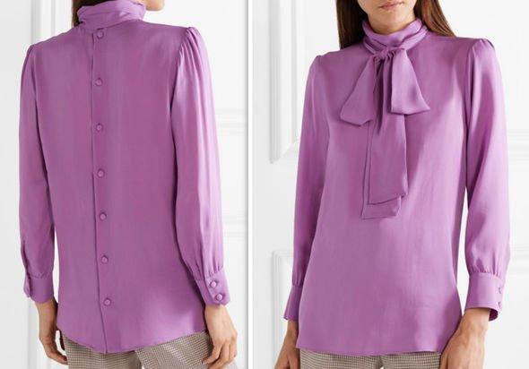 риза в лилаво