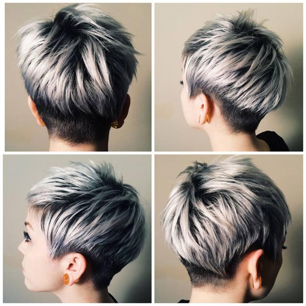 кичури на къса коса