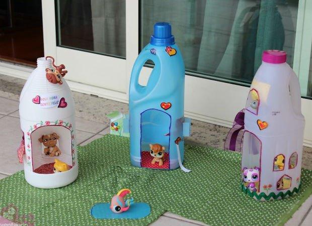 къща за кукли от пластмаса