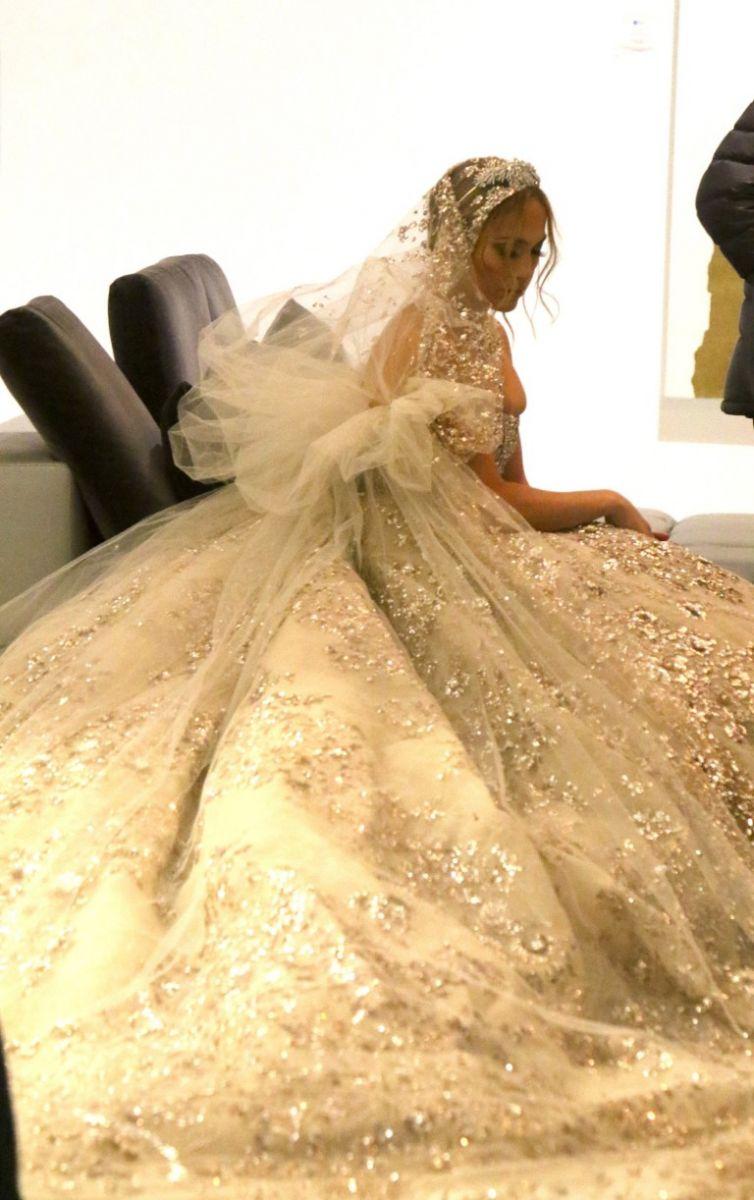 Джей Ло рокля сватба