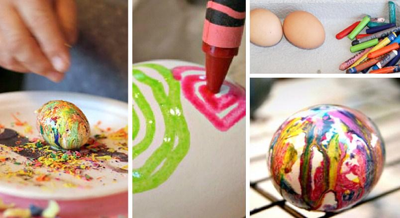 как се правят яйца-дъга