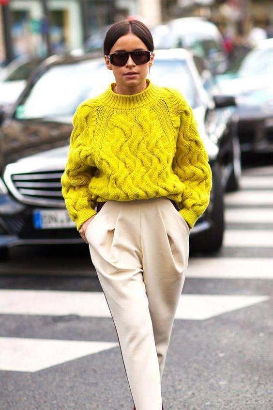 широк пуловер