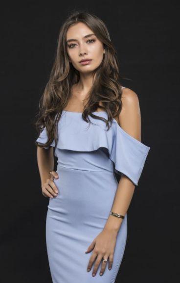 Неслихан Атагюл с рокля