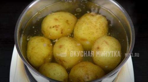 сварени картофи