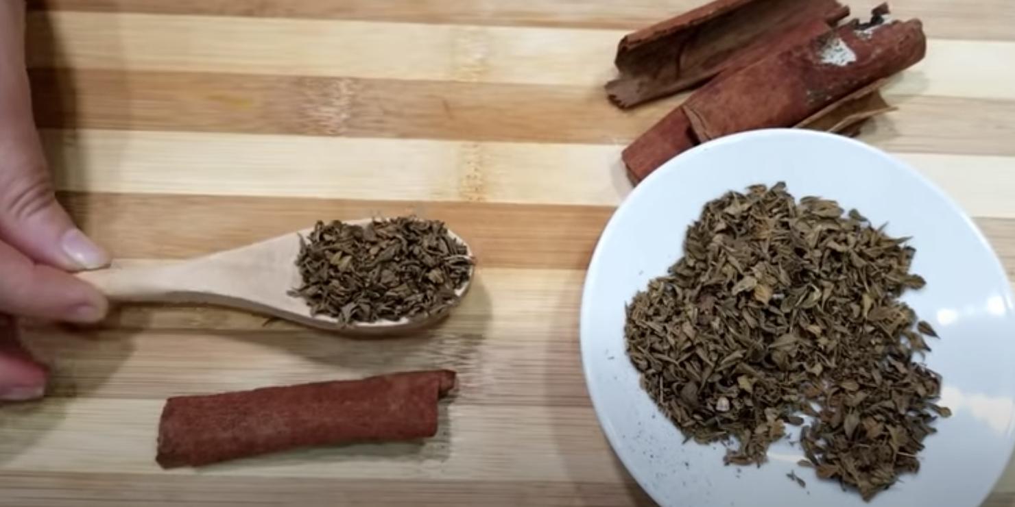 лечебен чай риган и канела