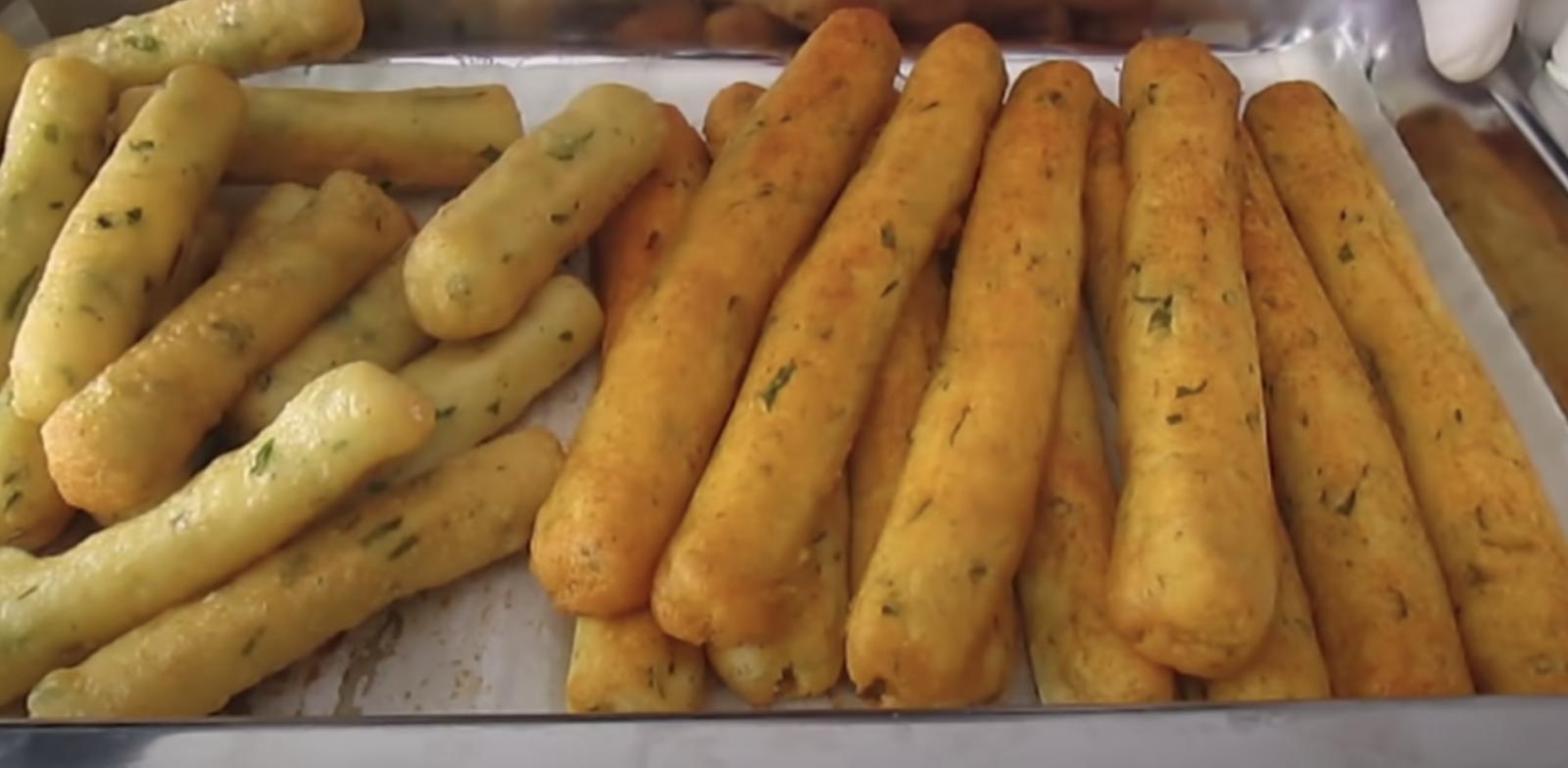 хрупкави картофени пръчици