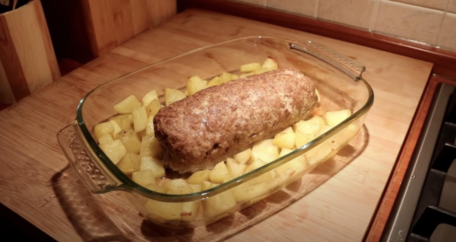 руло от кайма с картофи