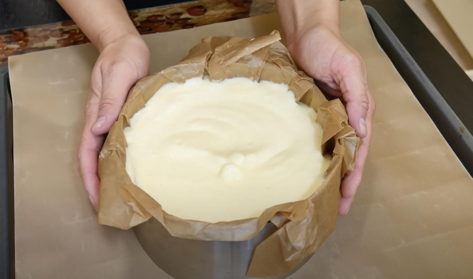 тесто във форма