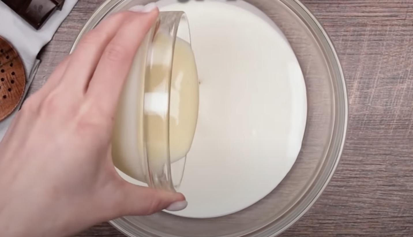 крем с кондензирано мляко