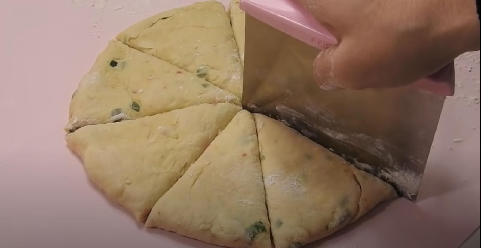 триъгълници закуска