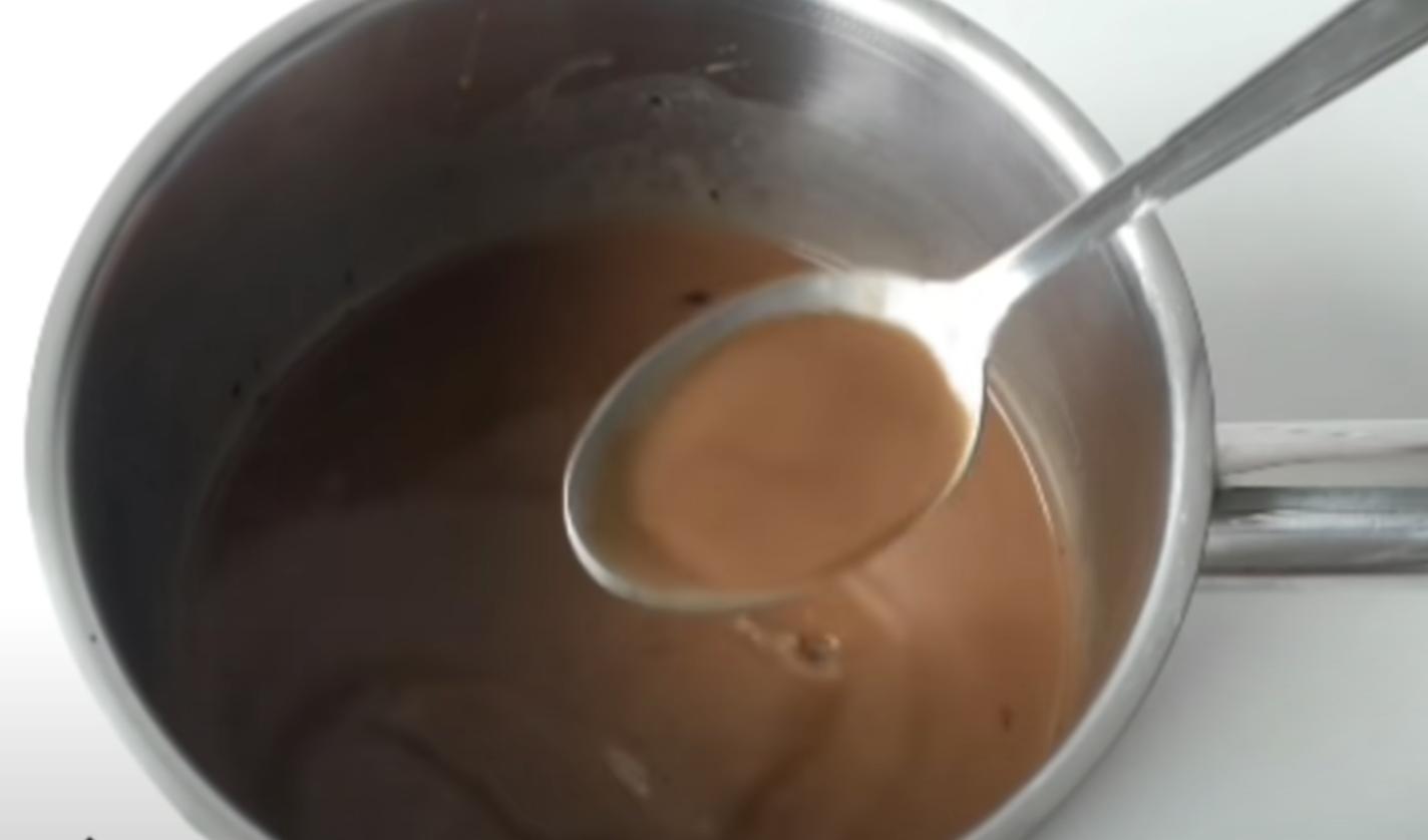 смес от какао и кафе