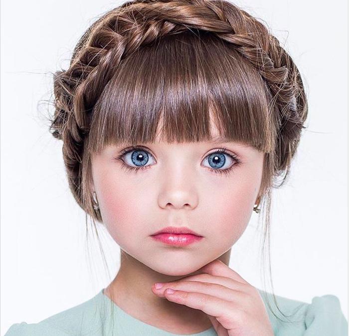 красиво дете