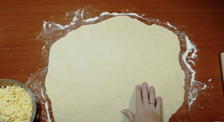 разточено тесто