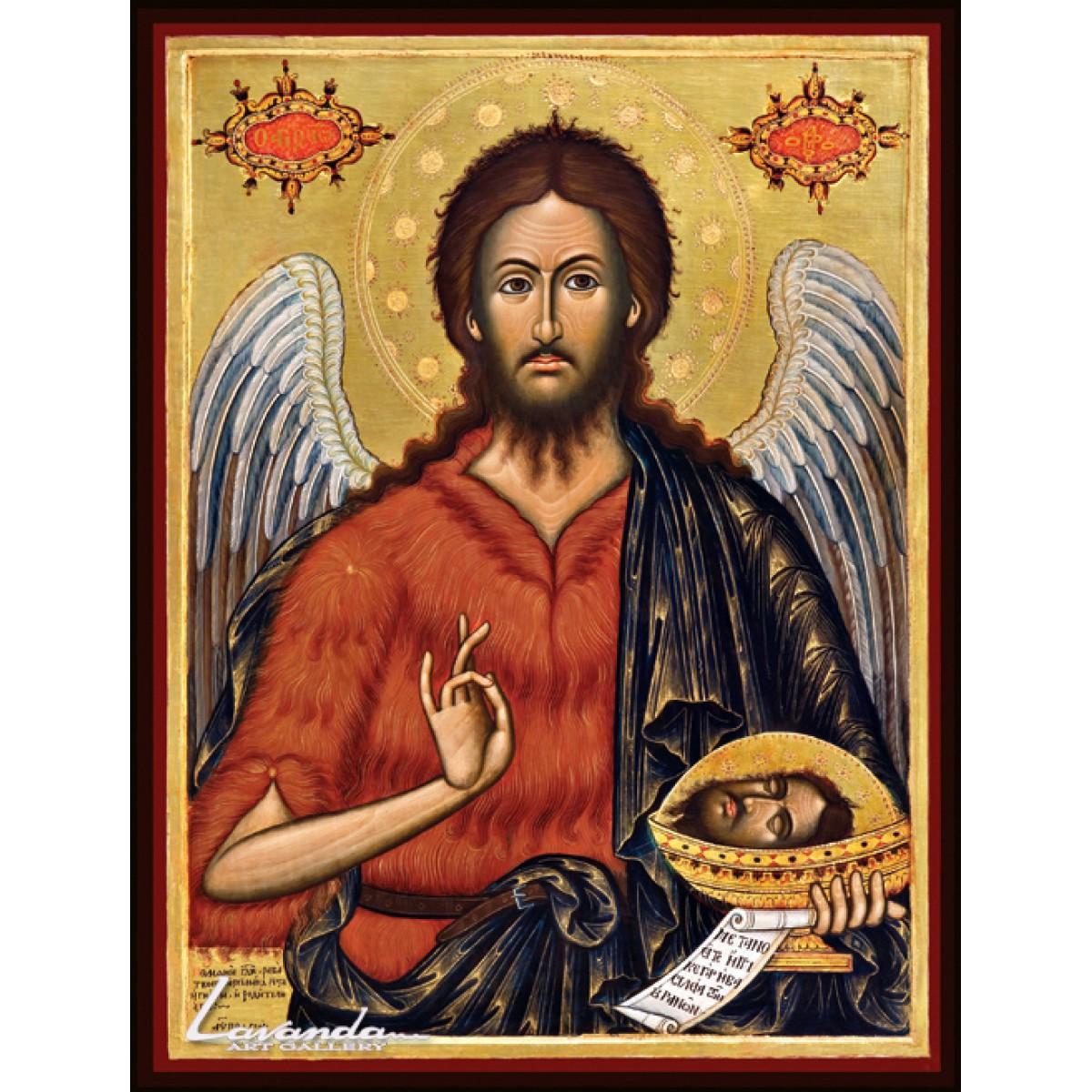 икона св.Йоан Кръстител