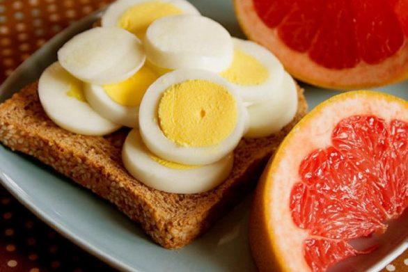закуска с яйца