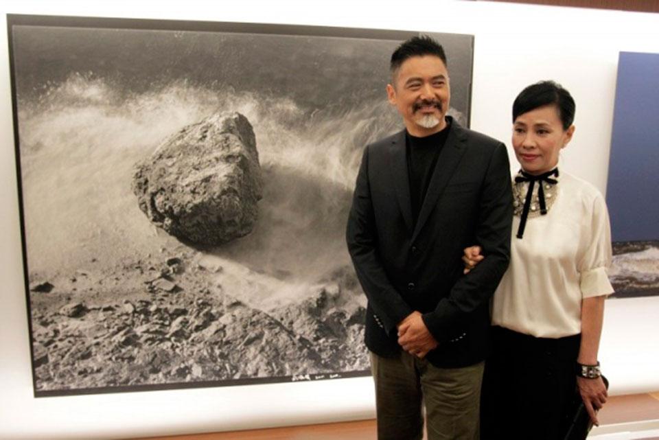 Чоу Юнфат на изложба