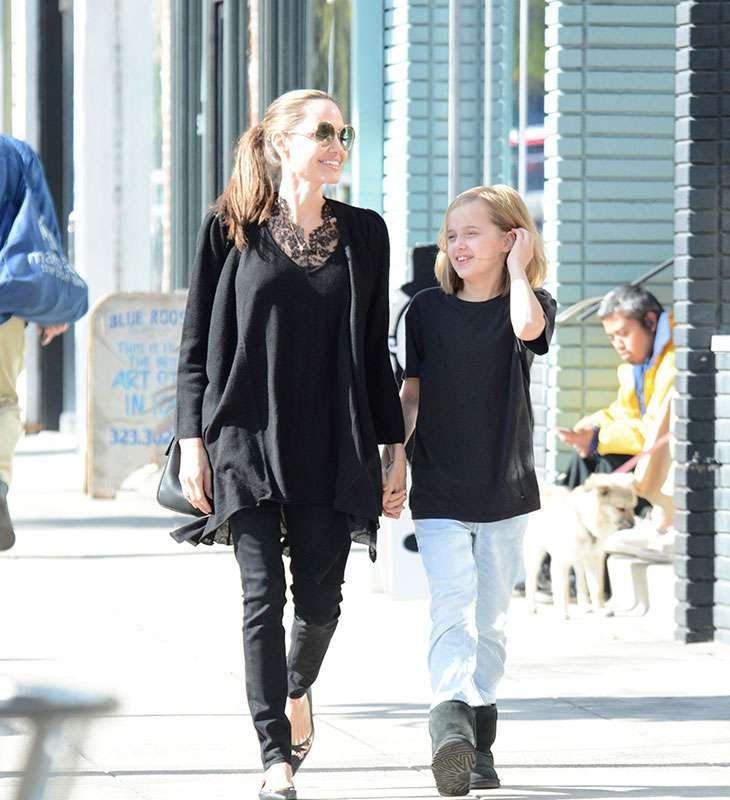 Анджелина Джоли и Вивиан