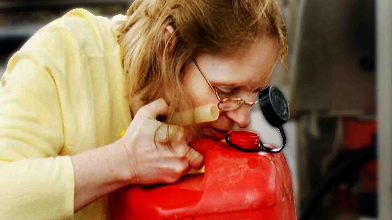 миризма на бензин