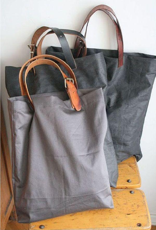 кожени чанти от стари колани
