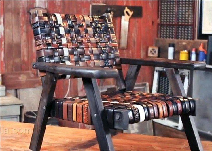 стол от кожени колани