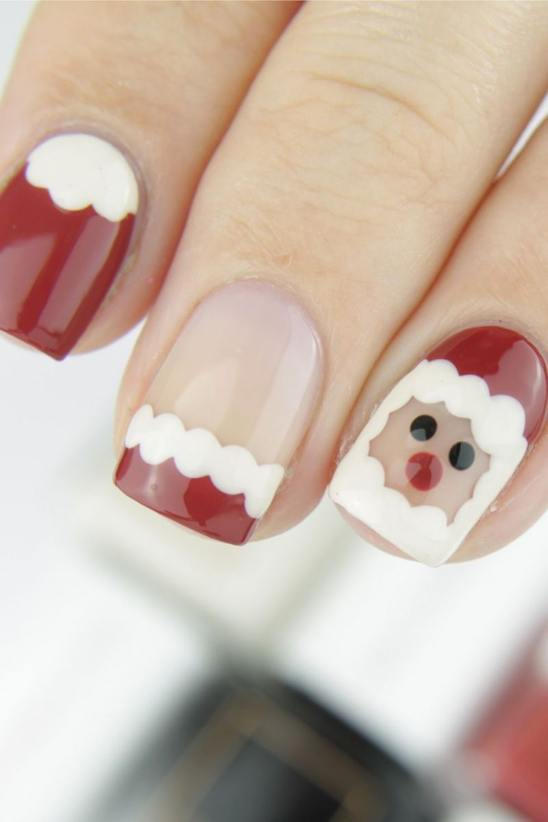 Коледен дизайн за ноктите