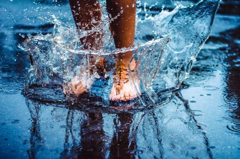 потапяне в студена вода
