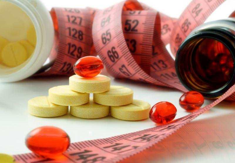 лекарства и килограми