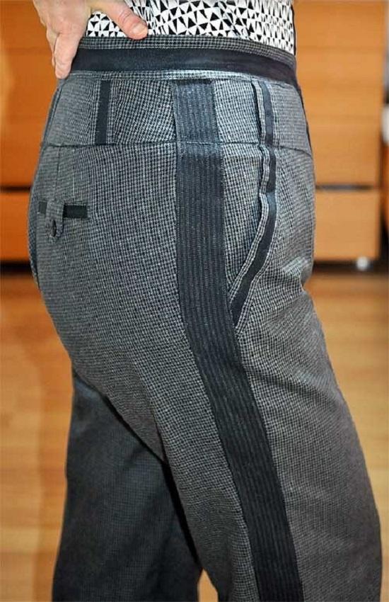 панталони с кант