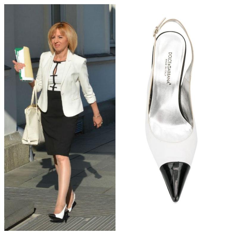 Мая Манолова обувки