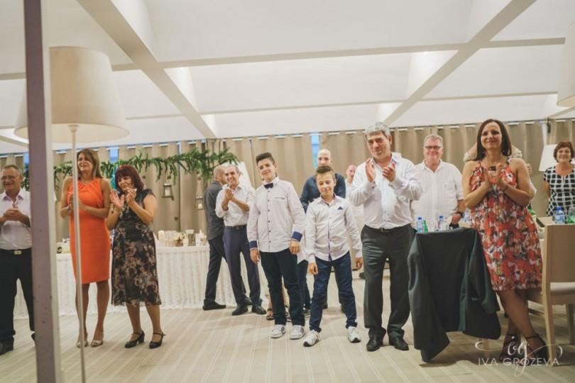 Десислава Радева на сватба