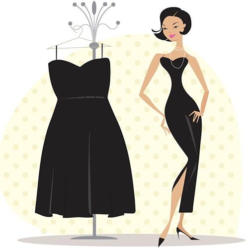 малка черна рокля диета
