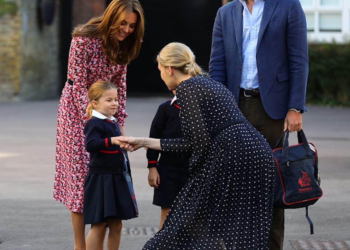 принцеса Шарлот на училище