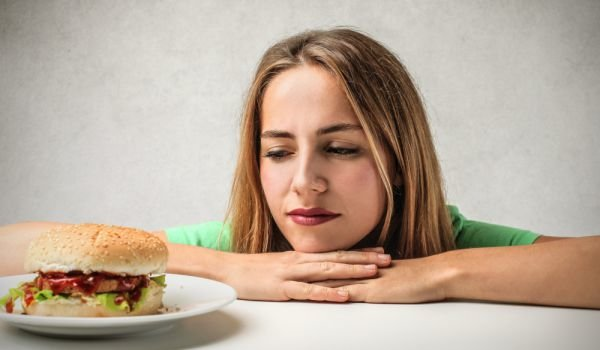 загуба апетит