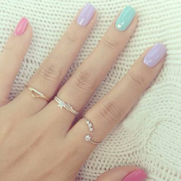 27 Simple and Cute Nail Art Ideas |  Style Motivation: