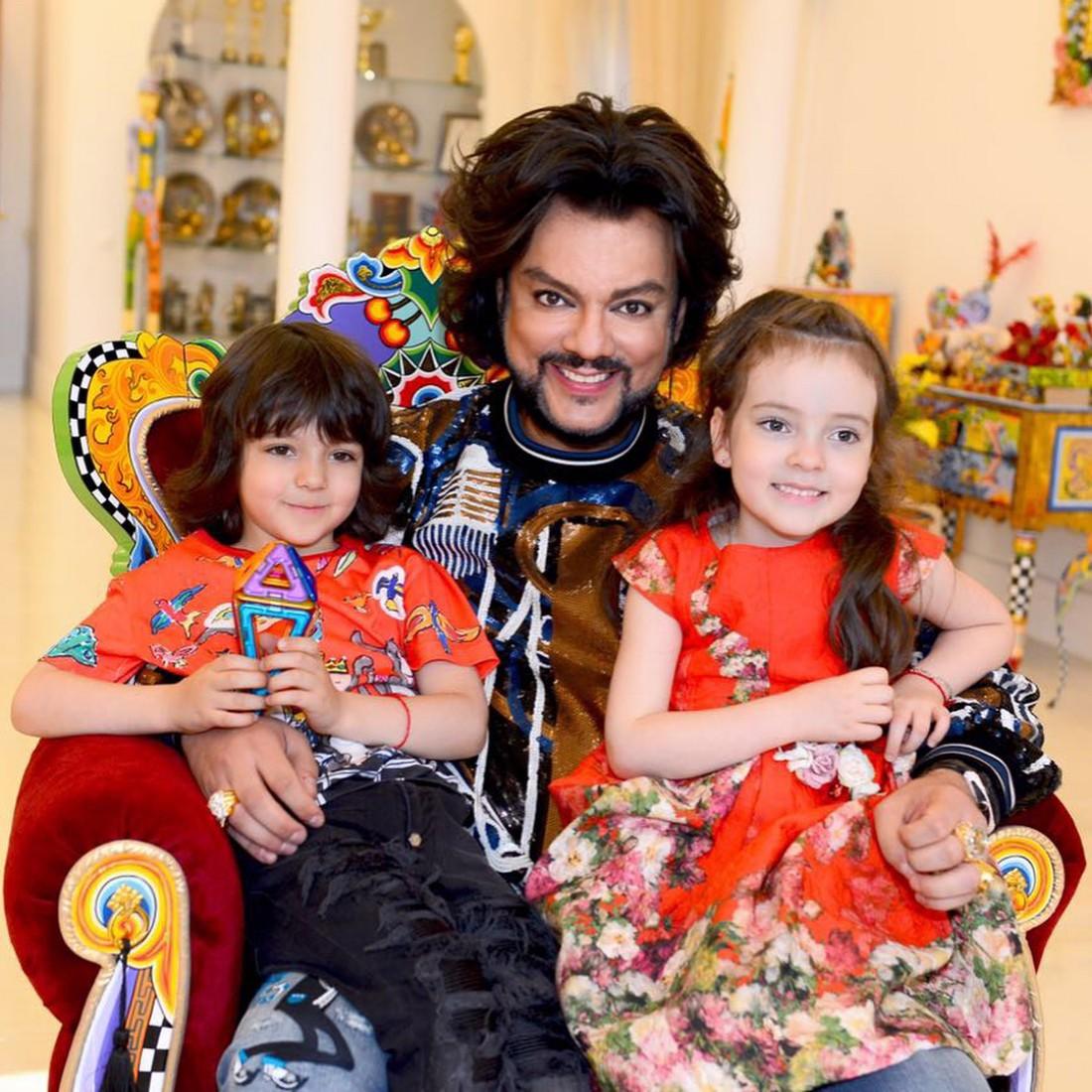 Филип Киркоров деца