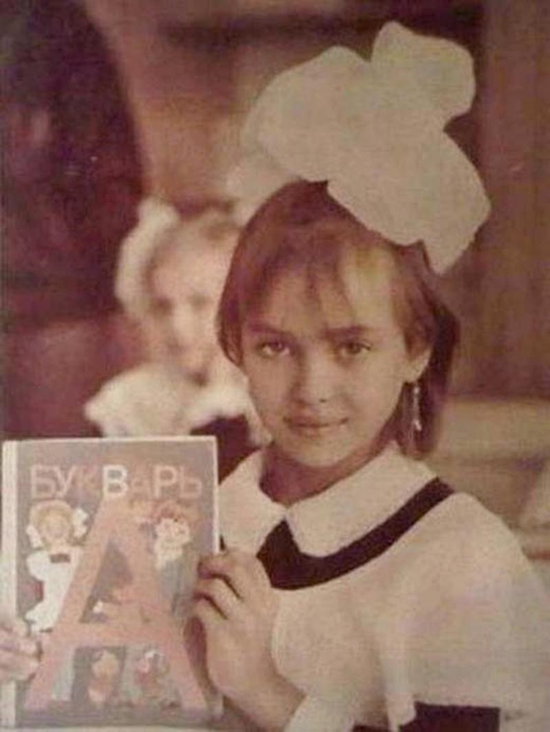 Ирина Шейк като дете