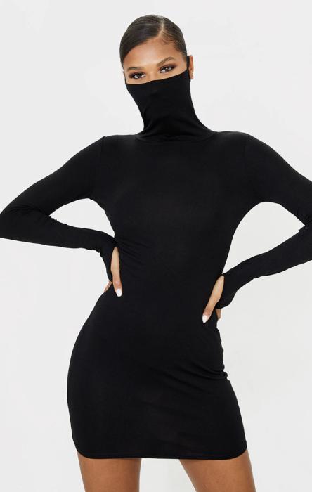 рокля вдъхновена от коронавирус