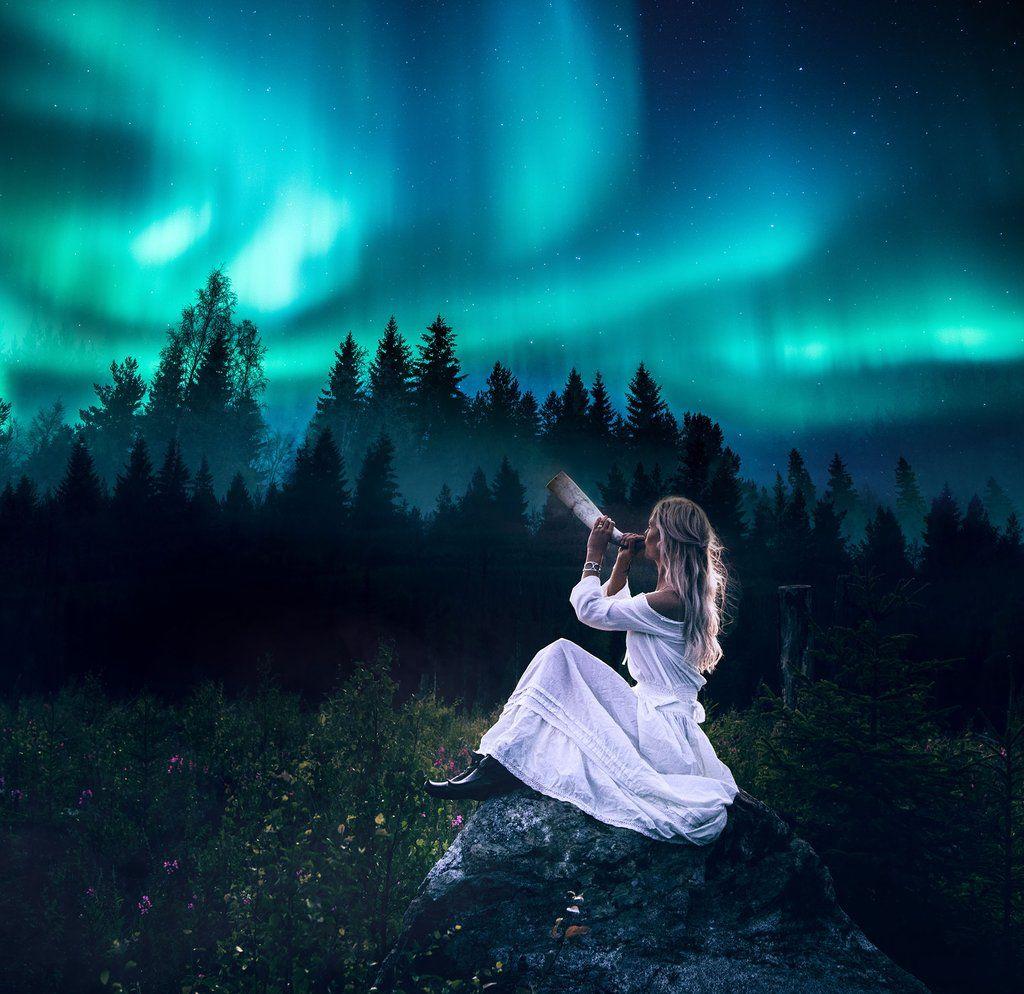 магията на небето