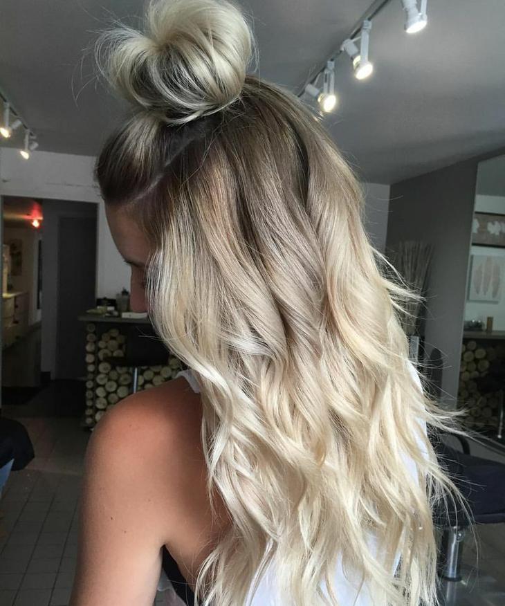 кокче с дълга коса