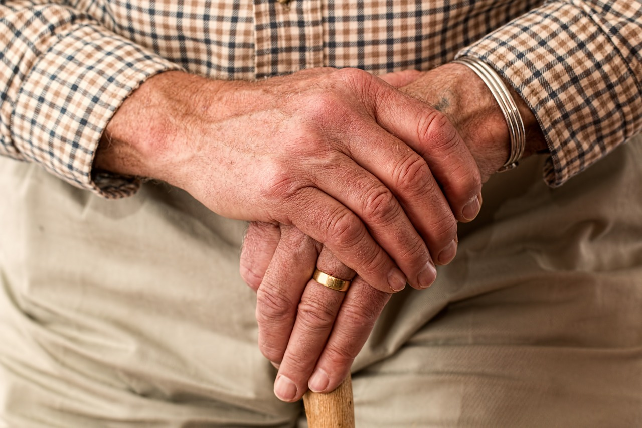 старчески ръце