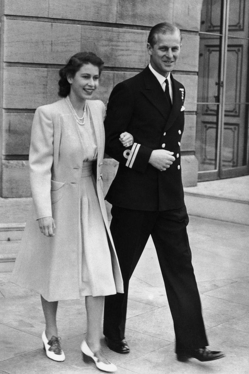 кралицата и Филип