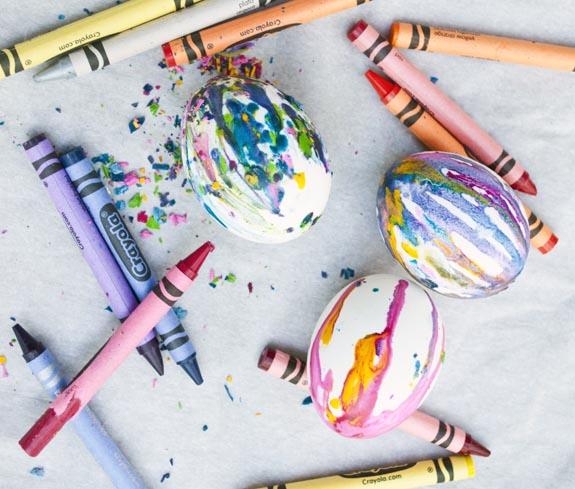 боядисване на яйца с восък
