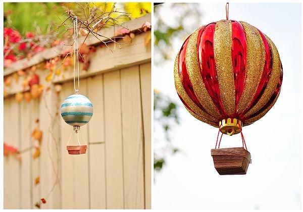 направи си сам - коледна играчка балон