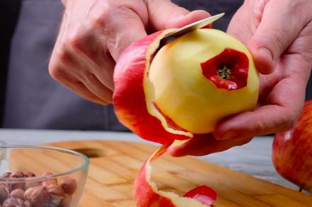 обелени ябълки