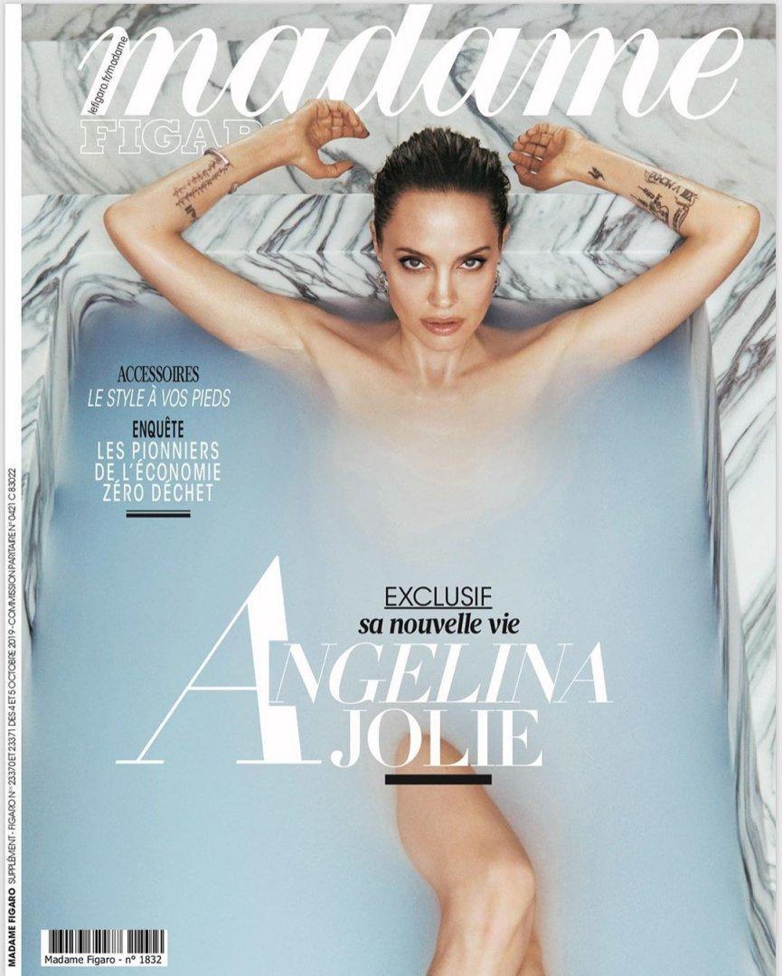 Анджелина Джоли корица