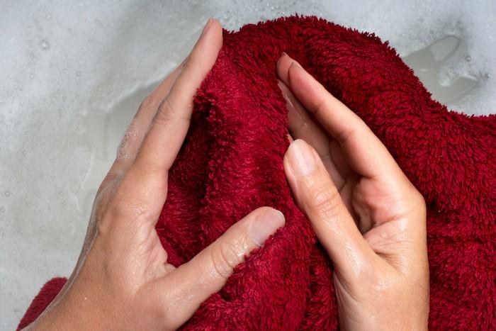 мокра кърпа